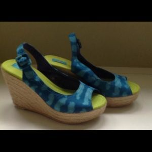 Calypso St. Barth for Target Wedge Sandals - NEW